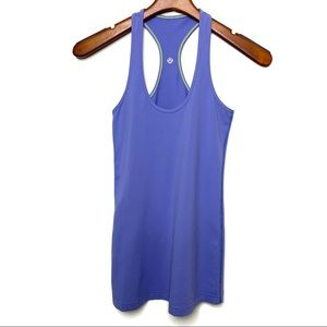 LULULEMON ATHLETICA Purple Cool Racerback Tank Top